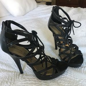 Chinese Laundry Lace Up Heels